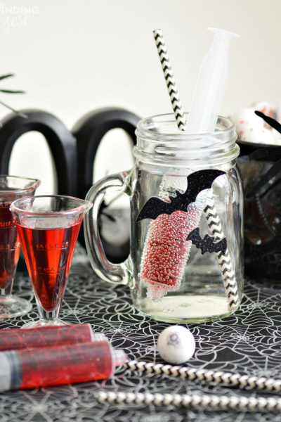 Bloodshot Halloween Drink for Kids