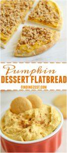 Pumpkin Dessert Flatbread