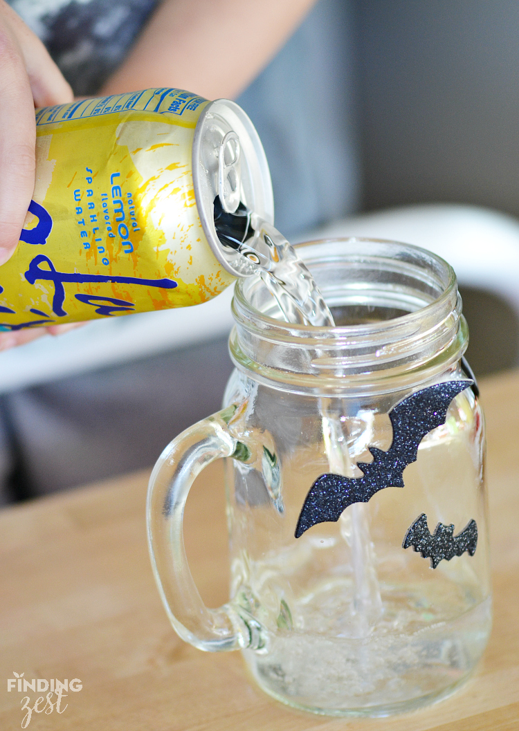 Sparkling Water for Kids Halloween Drink