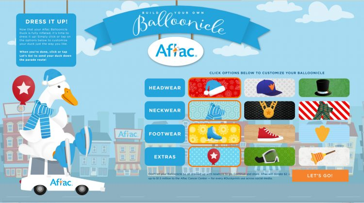 Aflac Build Your Own Balloonicle