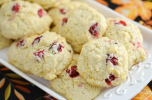 Easy Homemade Cranberry Orange Drop Biscuits