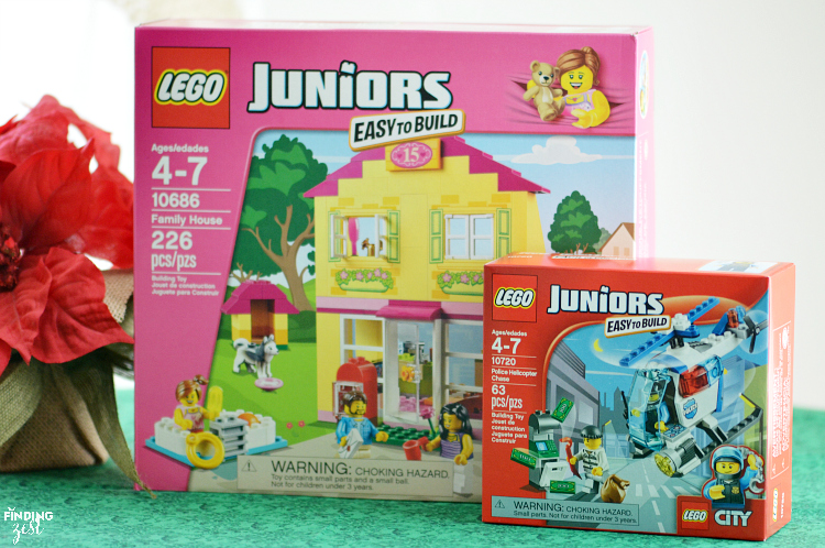 Foster independence with LEGO Juniors which are designed to provide just the right amount of challenge and creative play for children ages 4-7.