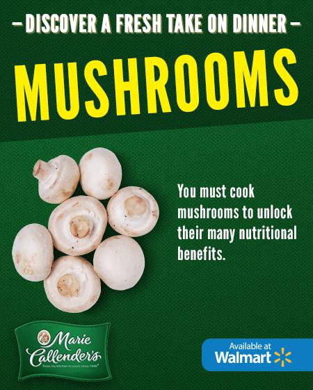 Marie Callender's Easy Mix In Ideas: Mushrooms