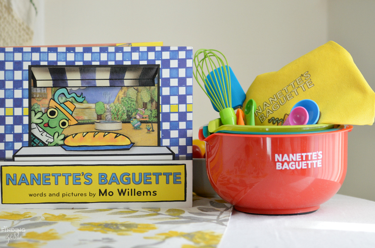 Nannette's Baguette Children's Book by Mo Willems