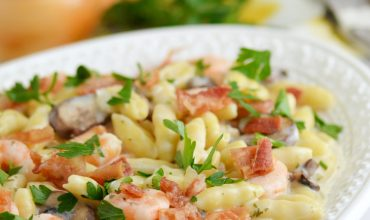 Creamy Shrimp and Garlic Pasta