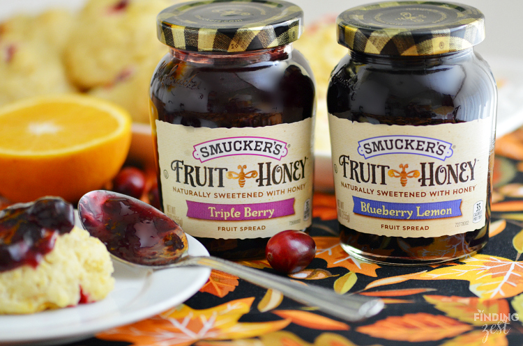 Smuckers Fruit and Honey Fruit Spreads