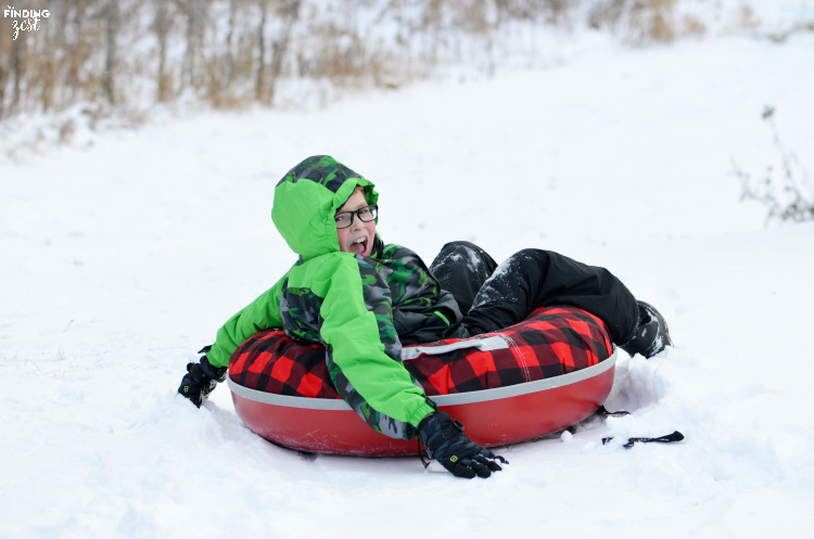 Sledding on Hill