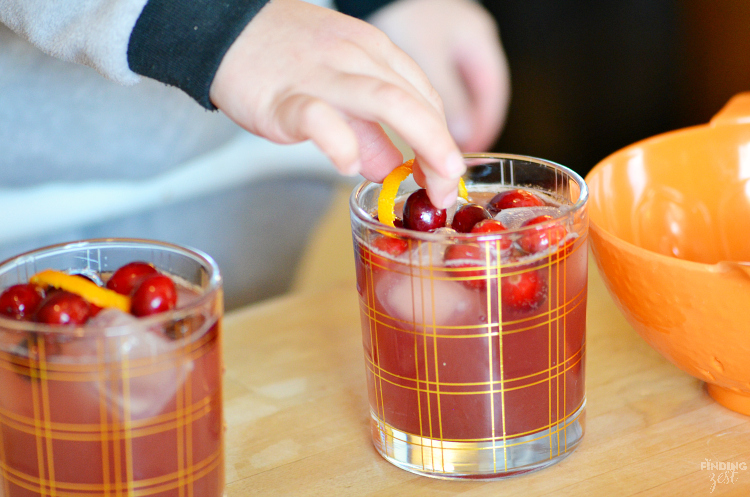 This Cranberry Pineapple Mocktail recipe is the perfect non-alcoholic holiday drink. Kids love it!