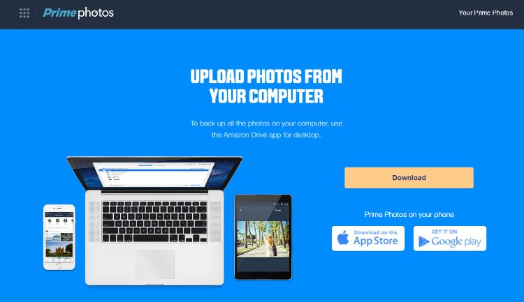 Amazon Prime Photo App