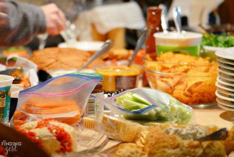 Host a Friendsgiving potluck party during the holidays for a less stressful way to connect with friends. Let Cascade Platinum help with cleanup!