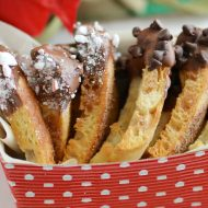 Chocolate Dipped Cinnamon Crisps + Bays Delicious Wishes Sweepstakes