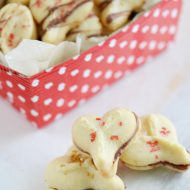 Valentine Spritz Cookies for Valentine's Day