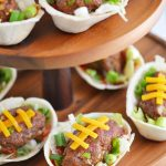 Football Taco Boats for Game Day