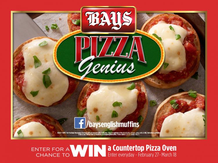 Bays Pizza Genius Sweepstakes