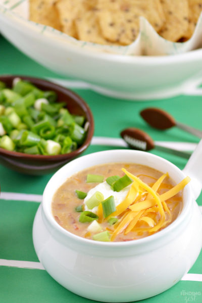 Easy Southwestern Chicken Soup: Win the Crowd on Game Day