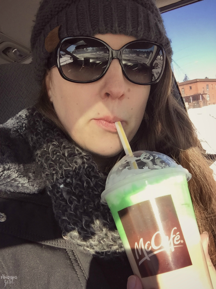 Head to McDonald's for a limited time to enjoy the Shamrock Shake, including the new Chocolate Shamrock Shake for a fun chocolate twist!