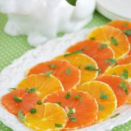 Honey Mint Orange Slices