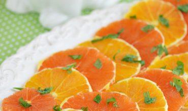 Honey Mint Orange Slices
