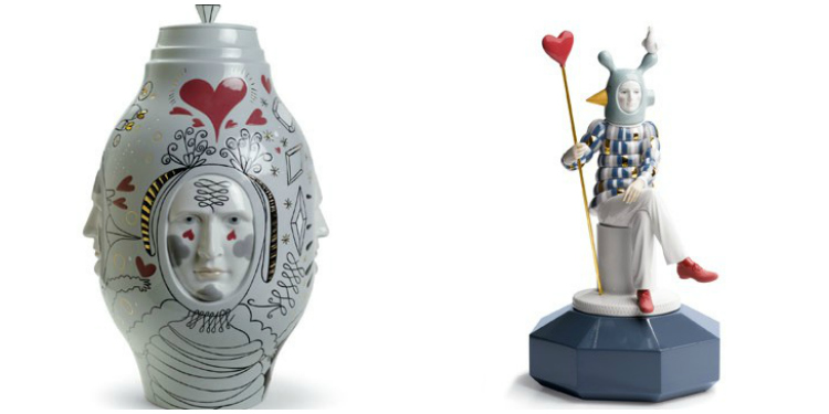 LLadro Small Conversation Vase and The Lover III