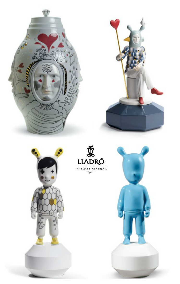 See new trends in home decor with Lladro, the long revered Spanish porcelain brand which means quality, handcrafting and excellent in art porcelain.