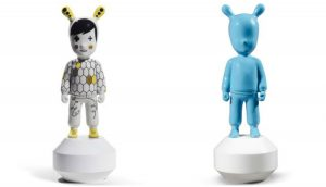 Lladro The Guest and The Guest Blue