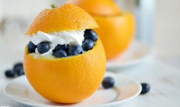 Orange Dessert Cups