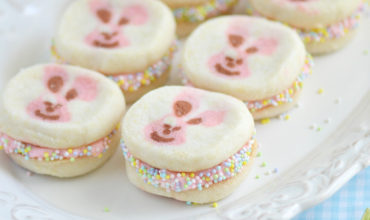 Easter Bunny Cookie Sandwiches