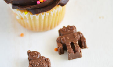 Chocolate Robot Cupcake Topper