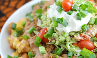 Loaded Totchos Recipe for Game Day