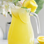 Homemade Pineapple Meyer Lemonade