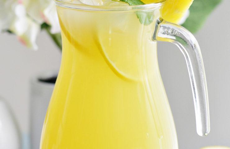 Homemade Pineapple Meyer Lemonade