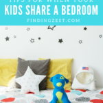 Tips When Kids Share a Bedroom + PureCare Giveaway