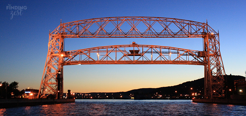 Duluth MN Staycation Aerial Lift Bridge