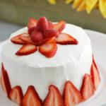 Strawberry Jell-O Cake (Literally Made of Jell-O)