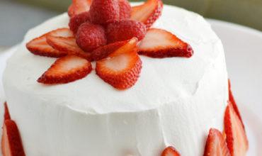 Strawberry Jello Cake (Literally Made of Jello)