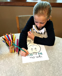 """Let your child color this apple """"You are the Best"""" teacher appreciation coloring page for their special teacher! This free printable is a thoughtful gift!"""