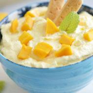 Mango Fruit Dip Served Two Ways!