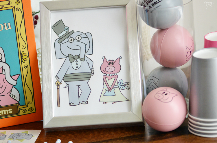 It's an Elephant & Piggie party! We are celebrating the 10th anniversary of this fun book series by Mo Willems with piggie punch, books & fun decor!