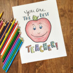 Teacher Appreciation Coloring Page Free Printable