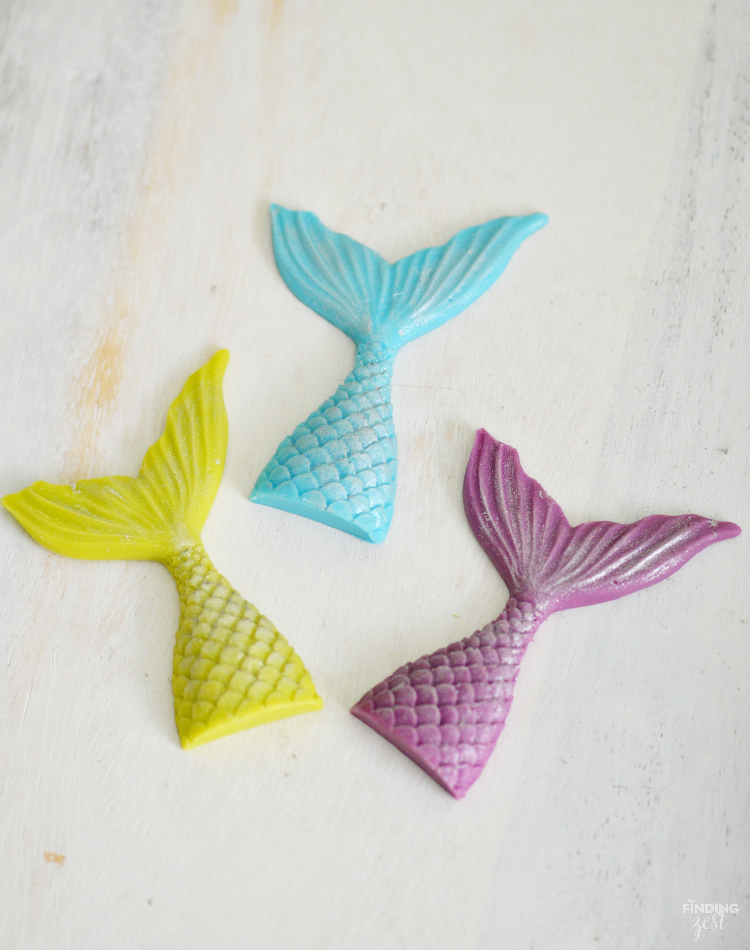 Looking For Easy Mermaid Party Ideas Learn How To Make A Shimmering Chocolate Tail