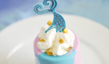 Mermaid Smoothie Shots for Kids