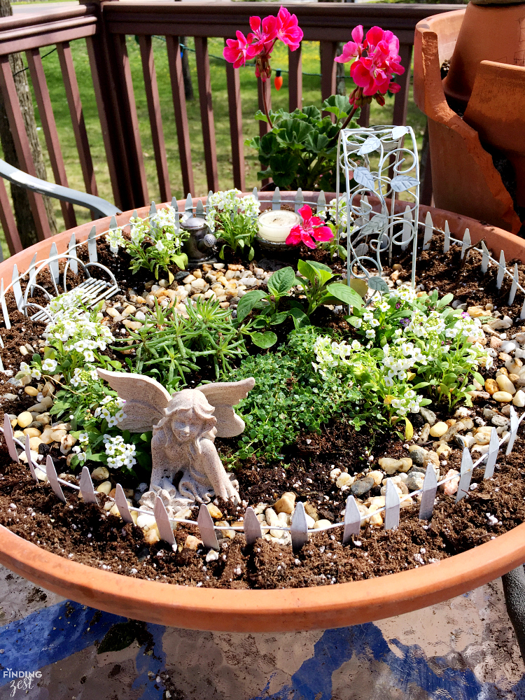 Learn How To Build A Fairy Garden With Kids In Clay Pots This Activity