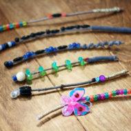 Friendship Wands: Kids Bead Craft