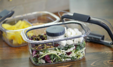 Easy Salad Kit Lunch Hack + Giveaway