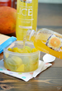 Celebrate back to school with Sparkling Ice! Take that fruit cup to the next level with this clever fruit hack and be not bland!