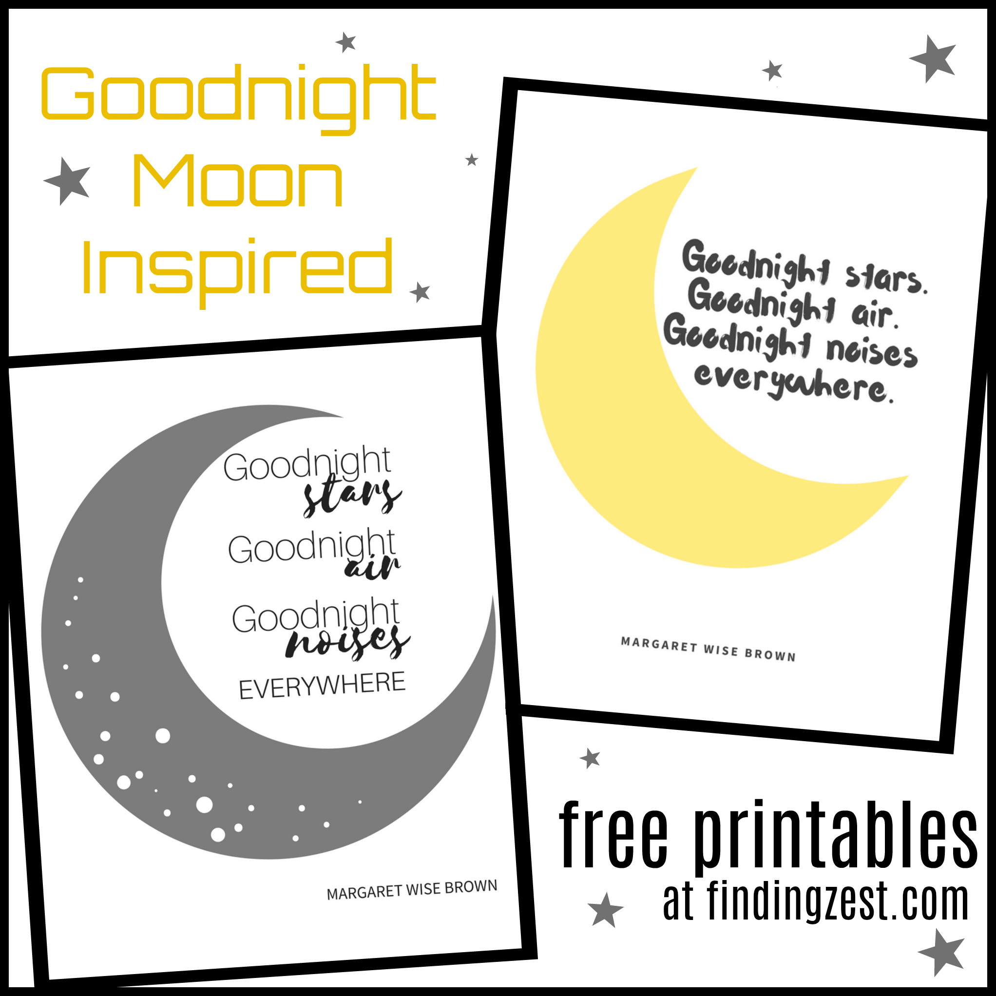 printable goodnight moon coloring pages - photo#37