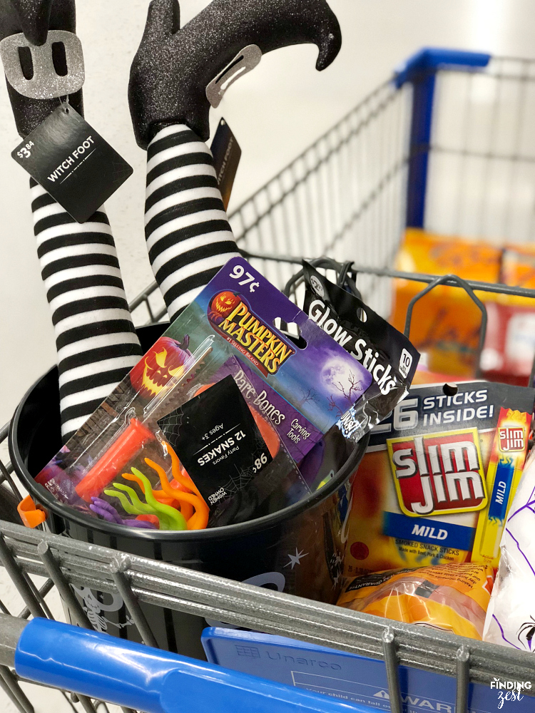Find Slim Jim's products at Walmart, perfect for Halloween!