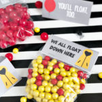 It Movie Party Favor Bag and Note Card Free Printables
