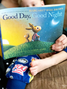 Get Goodnight Moon inspired nursery free printables and ideas, plus a closer look at the book Good Day, Good Night by Margaret Wise Brown!