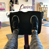 Getting Fit Again with Curves: No Excuses + ONE MONTH UPDATE